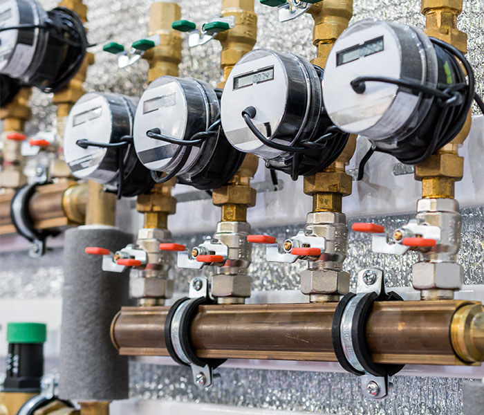 Automated water meters